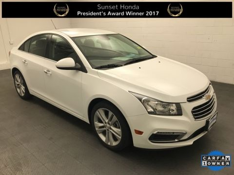 Used Chevrolet Cruze Limited LTZ